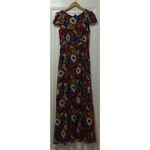 Urban Outfitters Floral Gown (Size 4)
